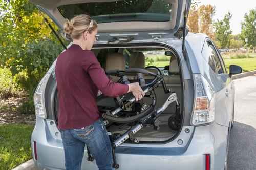Loading IRIS into back of vehicle