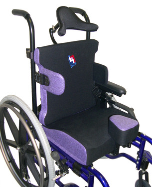 Purple upholstery